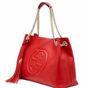 Gucci Red Soho shoulder bag
